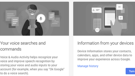 Google Introduces History for Voice and Mobile Search, Opt Out Here | SpisanieTO | Scoop.it