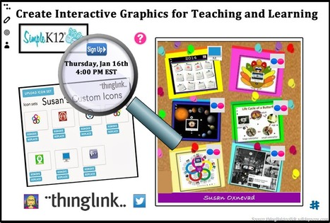 Webinar: Create Interactive Graphics for Teachi... | 21st Century Tools for 21st Century Learners | Scoop.it