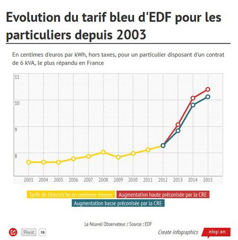 [énergie] Une facture d'électricité à 100 euros de plus en 2015 ? | Immobilier | Scoop.it