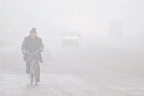 Le nord de la Chine dans un énorme nuage de pollution - France Inter | Home | Scoop.it