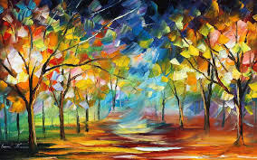 The colorful forest! | Art Passion | Scoop.it