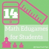 14 Math Edugames for Students - ClassTechTips.com | iPads in Education | Scoop.it