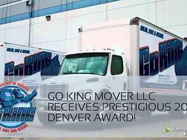 DatSyn News - GO KING MOVER LLC RECEIVES PRESTIGIOUS 2014 DENVER AWARD! | Moving And Storage | Scoop.it