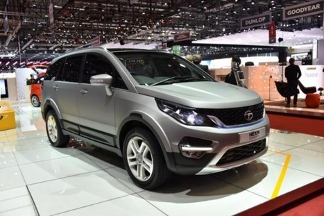 Tata Motors Shows Off the Hexa SUV Concept - SpeedLux | Technology | Scoop.it