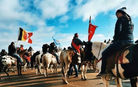 #Indigenous Protesters Remain Firm Against #Dakota Access Pipeline – Rising Up with #Sonali | Messenger for mother Earth | Scoop.it