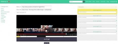 stepup.io, per dividir un vídeo de youtube en fragments que puguin compartir-se de forma individual   FOTOTECA INFANTIL   Scoop.it