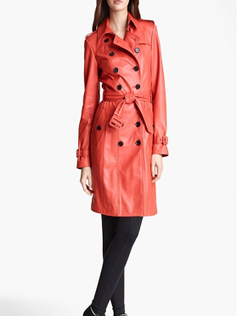 Mothers Day Special Leather Trench Coat | Leather Trench Coat for Mothers Days | Mothers day special leather collections | Scoop.it