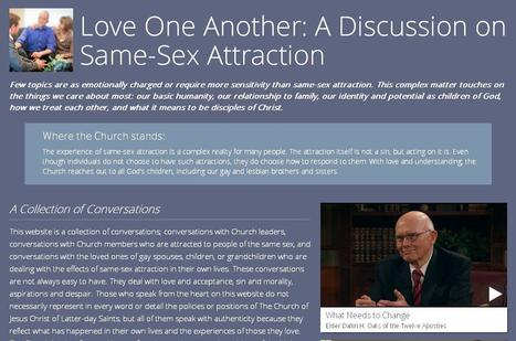 New website from Mormon church: 'Sexuality is not a choice' | LGBT Times | Scoop.it