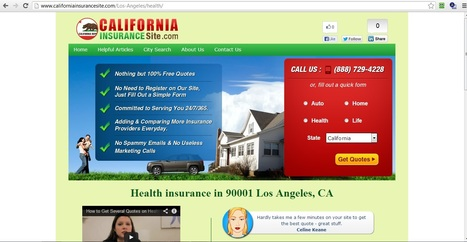 Health insurance and Affordable health insurance in 90001 Los Angeles, CA | health insurance san diego | Scoop.it