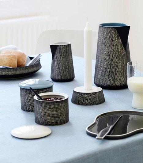 Modern Tableware with a Retro Contemporary Vibe - Design Milk | Visual arts | Scoop.it