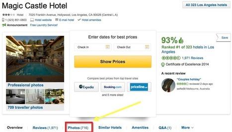 Photos impact bookings more than reviews   Social Media, Communication, PR,...   Scoop.it