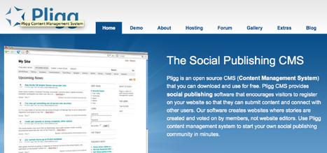 Les meilleurs Cms systemes de gestion de contenu pour 2013   tous les CMS   Scoop.it