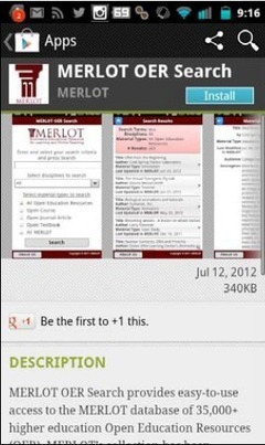 MERLOT Supports Mobile Learning | Educación flexible y abierta | Scoop.it