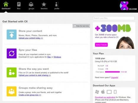 Descubre el nuevo CX, la gran alternativa a Dropbox | Herramientas digitales | Scoop.it