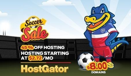 Soccer Sale – 45% Off New Hosting @ Hostgator | Sports | Scoop.it
