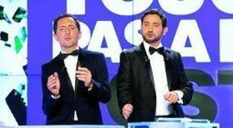 Gad Elmaleh et Cyril Hanouna en complicité dans l'écriture - Afriquinfos.com | General Media | Scoop.it