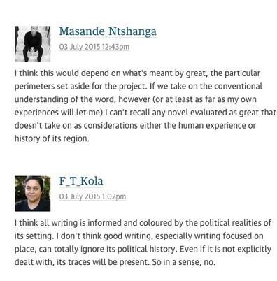 Pour être un grand auteur africain faut-il écrire sur le colonialisme? - Slate Afrique | écrire et être publié | Scoop.it
