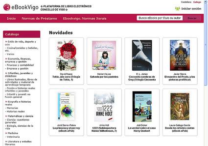 eBook Vigo: nueva plataforma de préstamo digital de iBiblio Libranda | Conversaciones líquidas | Scoop.it