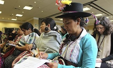 Indigenous women in Latin America remain invisible to society, warns UN | Horn APHuG | Scoop.it