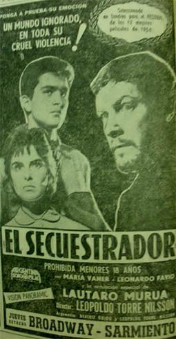 La recepción de El secuestrador de Torre Nilsson desde 1958 hasta hoy | Eugenia Guevara publicaciones | Scoop.it