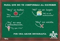 140 actividades de ortografia para estudiantes | Yo Profesor | tic | Scoop.it