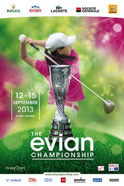 L'affiche de The Evian Championship - Le Point Golf | actualité golf - golf des vigiers | Scoop.it