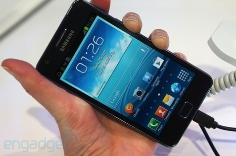 Samsung Galaxy S II Plus makes a random appearance at CeBIT 2013, we go hands-on | Mobile Technology | Scoop.it