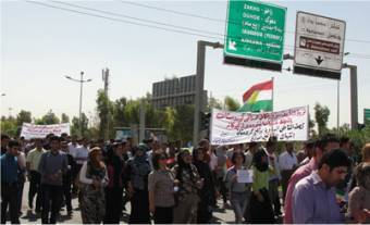 Thousands rally against border bombardments in Iraqi Kurdistan capital   Human Rights and the Will to be free   Scoop.it
