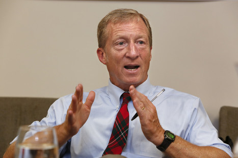 Environmentalist Tom Steyer opts out of Senate race | Press Review | Scoop.it