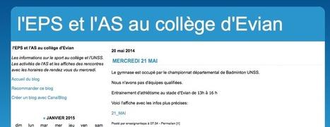 Le site d'EPS du collège | Derniers articles du site! | Scoop.it