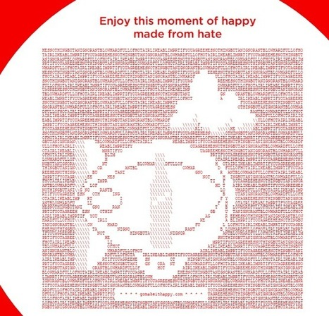 CocaCola Does MakeItHappy ASCII Art - ASCII Artist | ASCII Art | Scoop.it