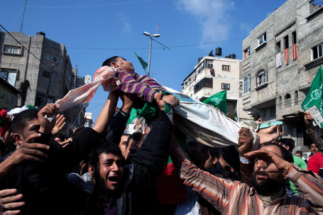 Gazans Mourn Dalu Family - will the indiscriminate death caused by bombs change the situation? | enjoy yourself | Scoop.it
