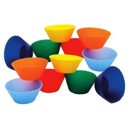 Cheap Kitchen Supply Mini Muffin Silicone Baking Cups, 1-7/8-Inch, Set of 12 Reviews | cheaphomeappliances | Scoop.it
