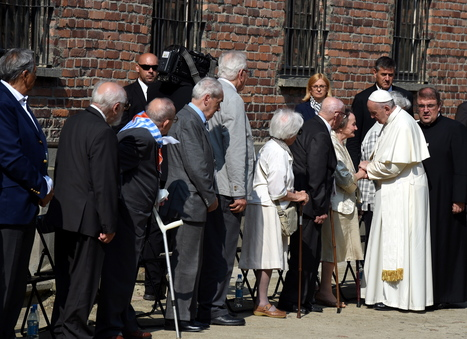 Pope Francis visits Auschwitz | World at War | Scoop.it