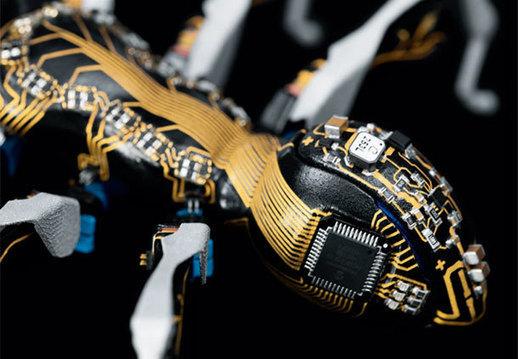 Post-Sapiens, les êtres technologiques - BionicANTs: les fourmis robots de Festo