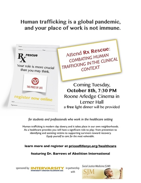Rx Rescue: Combating Human Trafficking in the Clinical Context   Columbia SJM   Human trafficking   Scoop.it