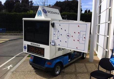 La voiturette-écran : la dernière trouvaille de Bielsa aux entraînements de l'OM | Entraînement et préparation physique football | Scoop.it