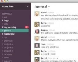 Slack. Centraliser toutes les communications de votre equipe - Les Outils Collaboratifs | mooc_réseaux sociaux_mobiles _ évaluation | Scoop.it