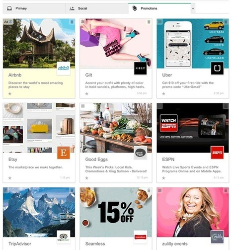 Gmail Test Offers Pinterest-Like Look for Promotions Tab - SiteProNews | Digital-News on Scoop.it today | Scoop.it