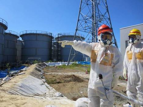 Tepco fixes leaky pipe but finds hot spots, jump in radiation | nuclear safety | Scoop.it