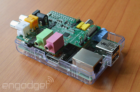 Raspberry Pi gets its own sound card | tech | Scoop.it