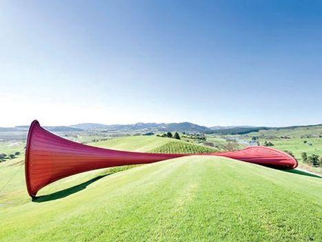 Anish Kapoor 'The Farm'   DESARTSONNANTS - CRÉATION SONORE ET ENVIRONNEMENT - ENVIRONMENTAL SOUND ART - PAYSAGES ET ECOLOGIE SONORE   Scoop.it