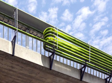 Urban algae farm eats highway pollution and turns it into organic fuel | Futurable Planet: Answers from a Shifted Paradigm. | Scoop.it