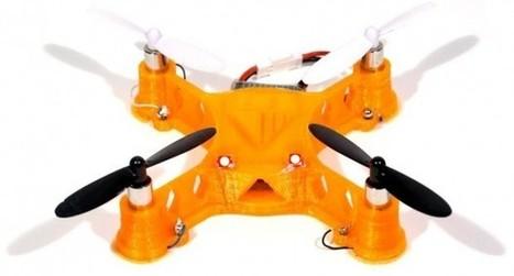 La impresión 3D permite crear los circuitos de un drone | tecno4 | Scoop.it
