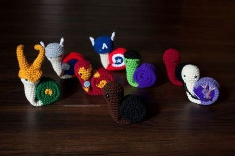 Etsy thing of the day: Snail Avengers by Fallen... | All Geeks | Scoop.it
