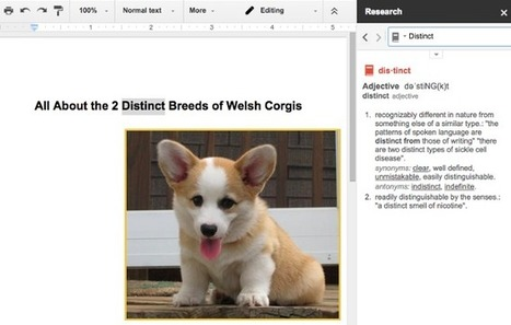 15 Google Doc Features You Didn't Know Existed (But Totally Should) | Using Google Drive in the classroom | Scoop.it