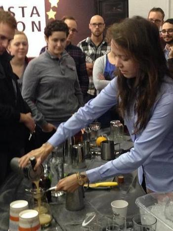 Barista Nation gave coffee pros non-competitive, collaborative learning ... | Coffee News | Scoop.it