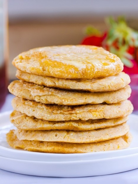 Fluffy Cornbread Pancakes | Nutrition & Recipes | Scoop.it