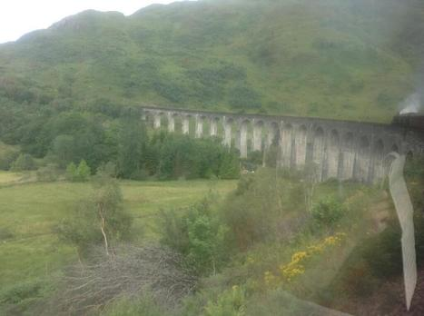 Twitter / evdougherty: Travelling by steam train across ... | west highland railway | Scoop.it