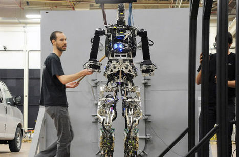 Firefighting Robot Prepares To Walk Through Flames | Technology in Education | Scoop.it